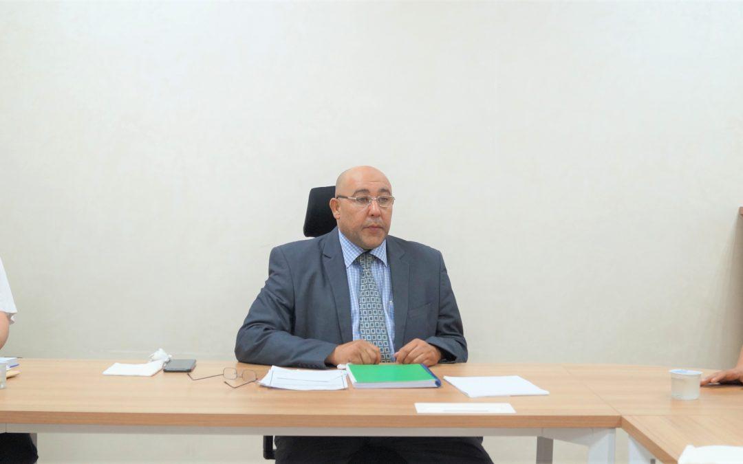 لجنة إعداد الملاك الوظيفي للجامعة الأسمرية الإسلامية لسنة 2022 – 2023م.