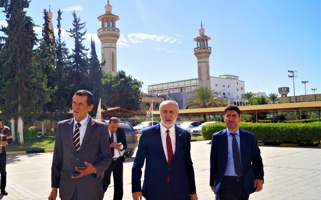 الجامعة الأسمرية الإسلامية تفتح آفاق التعاون مع المؤسسات والجامعات التركية المناظرة لهـا وفي مختلف المجالات