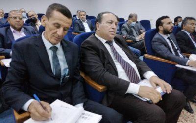 الملتقى الوطني الثاني لرؤساء الجامعات ومديرو مكاتب التعاون الدولي بالجامعات الليبية بجامعة الزاوية