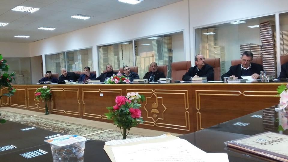 الاجتماع الأول بهيئات تحرير المجلات التي تصدرها الجامعة الأسمرية
